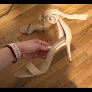 45349d090833 Aldo Shoes - Like new Aldo Yenalia strappy nude heels!